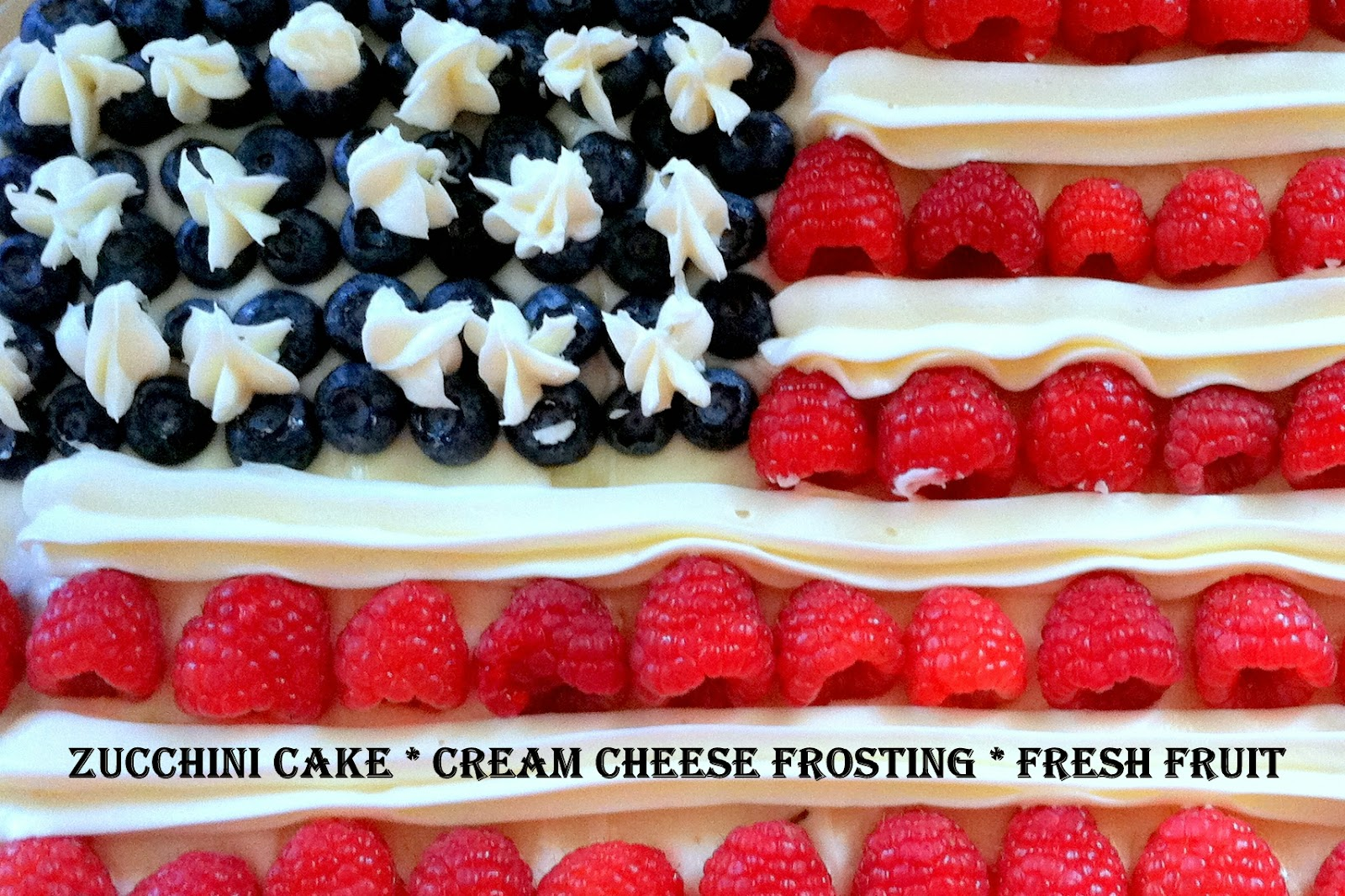 ... Round-Up: Zucchini Cake with Cream Cheese Frosting and Fresh Fruit
