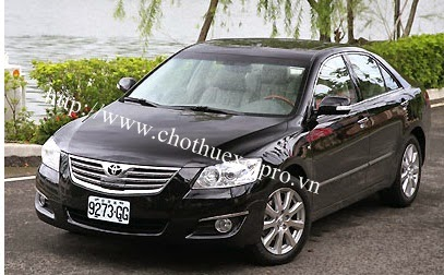 Cho thuê xe 4 chỗ camry 3.5Q giá ưu đãi tại Hà Nội