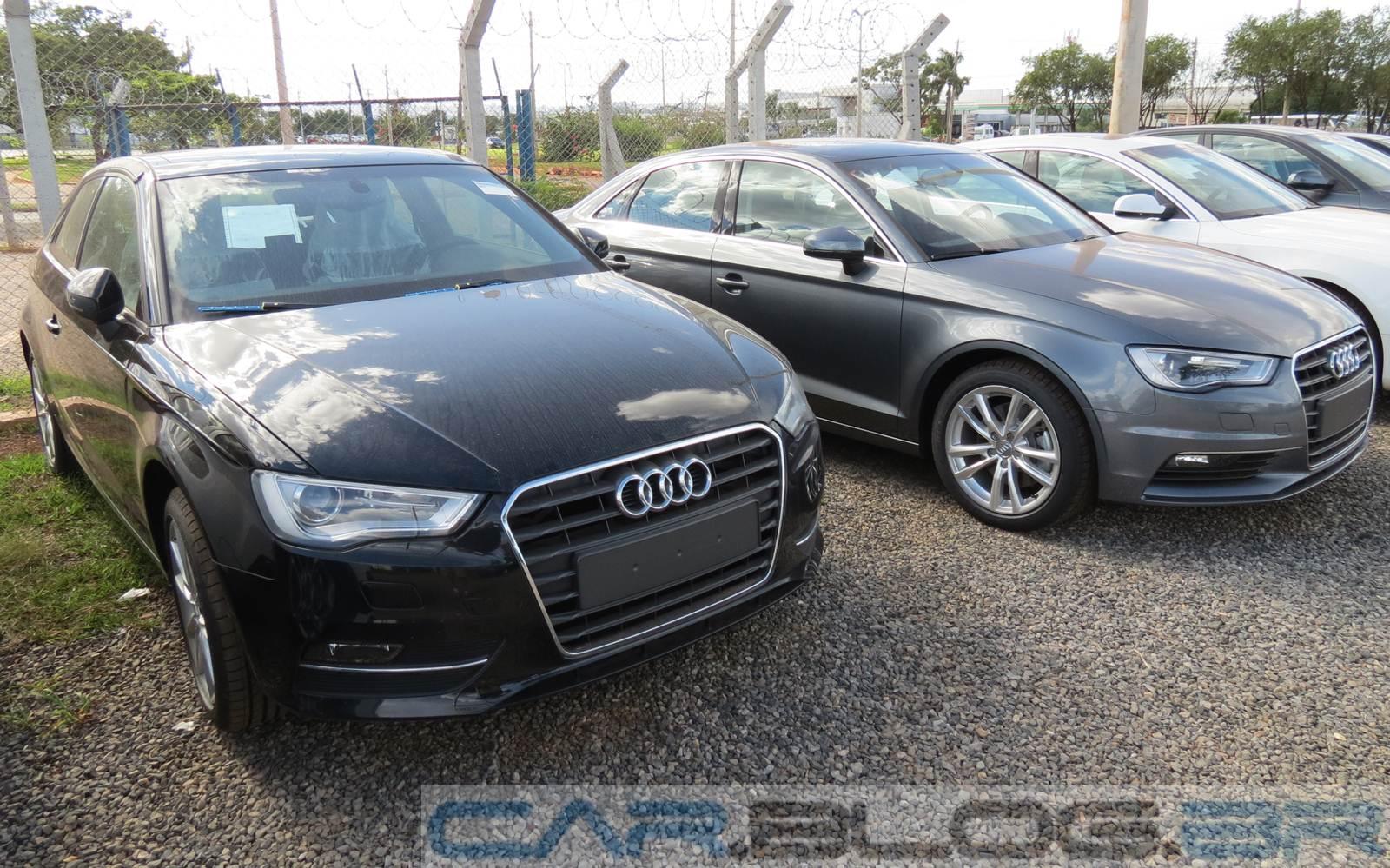 Audi A3 Hatch (esquerda) x Audi A3 Sedan (direita)