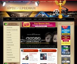 Movie Theater WordPress Theme