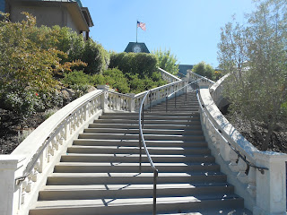 francis ford coppola winery staircase