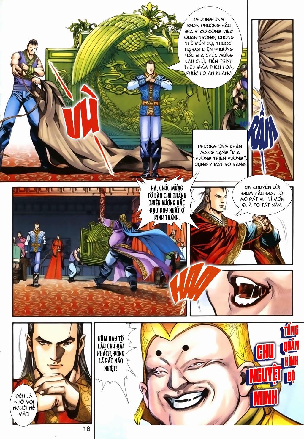 Thuyết Anh Hùng Thùy Thị Anh Hùng chap 16 Trang 19 - Mangak.info