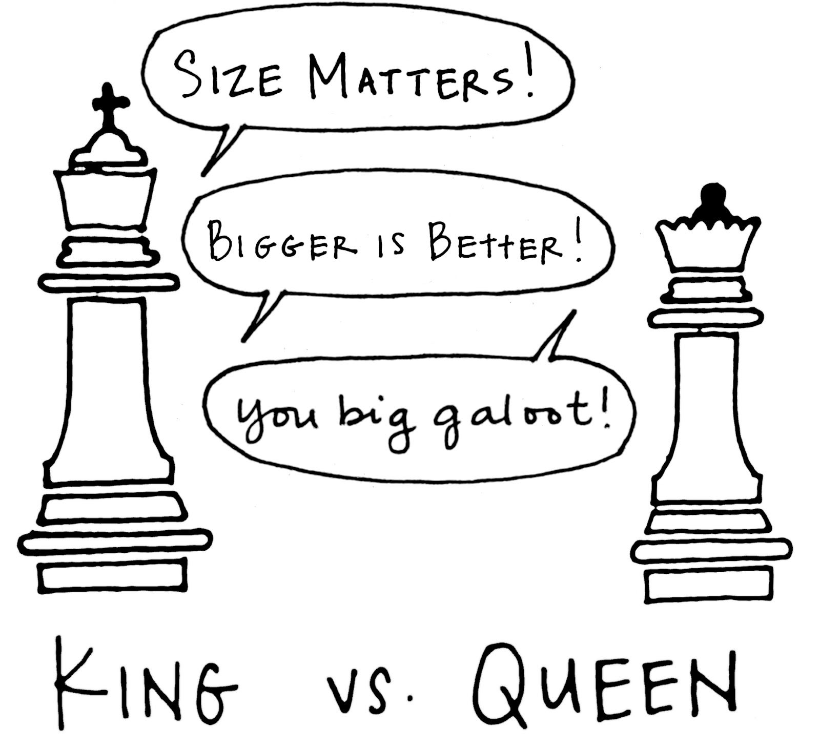King Vs. Queen