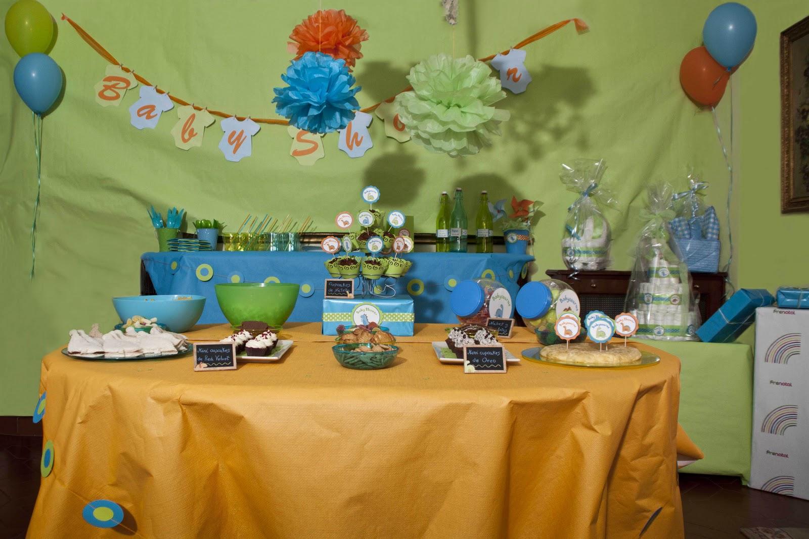 Scrapbowl baby shower montaje - Mesa baby shower ...