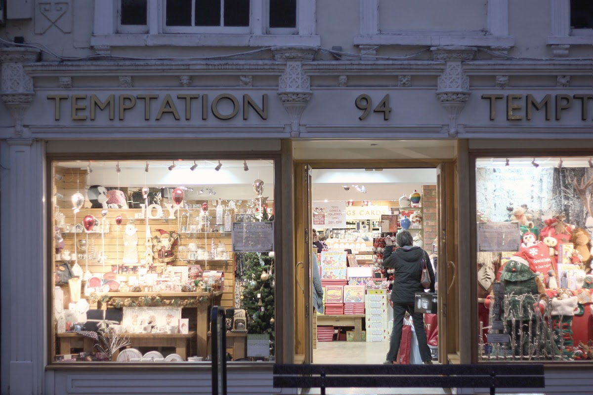 Temptation shop, Newbury