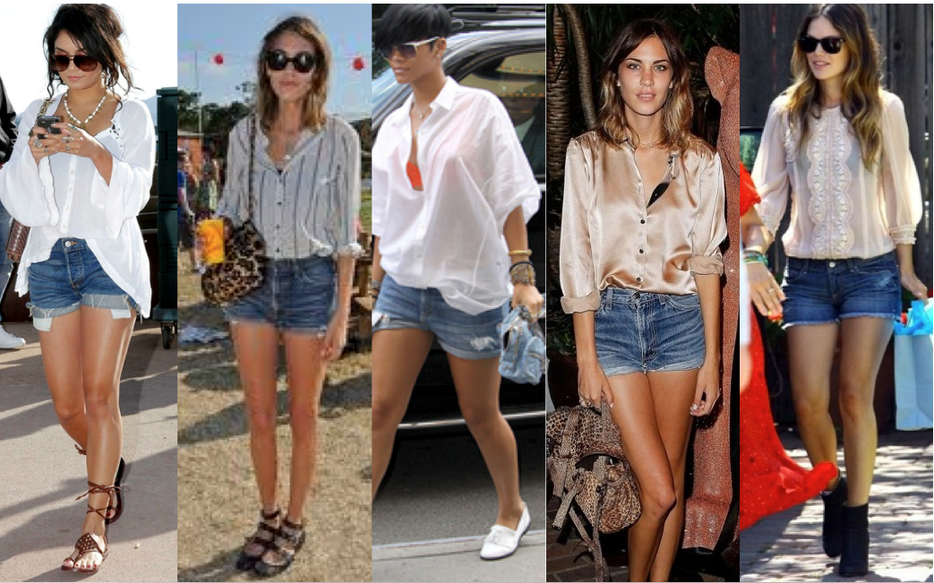StudentFashionAndBeauty -: Three ways to wear denim shorts