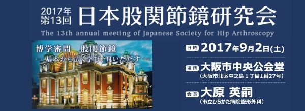 第13回日本股関節鏡研究会