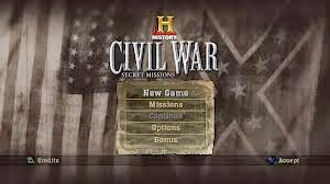 Civil War Secret Missions