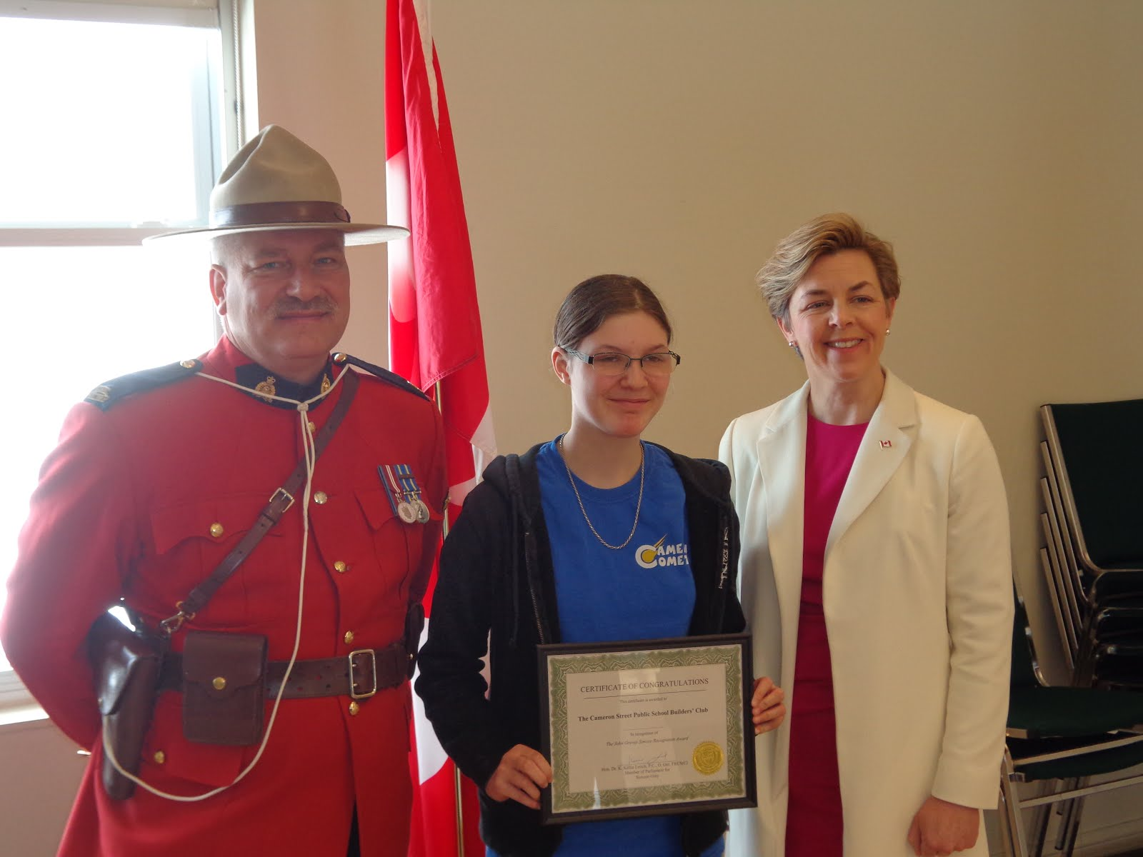John Simcoe Recognition Award