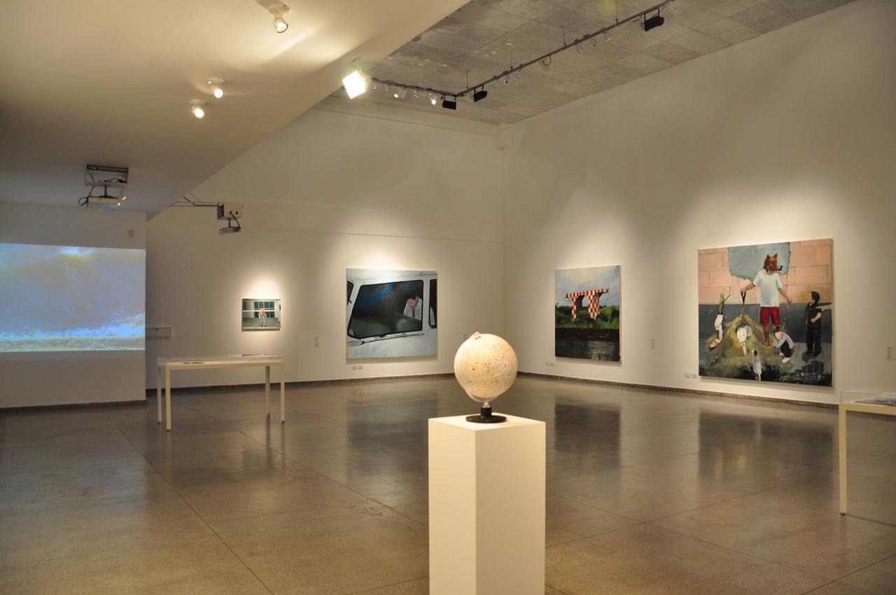Galeria centro cultural ufg pr mio cni sesi marcantonio - Galerista de arte ...