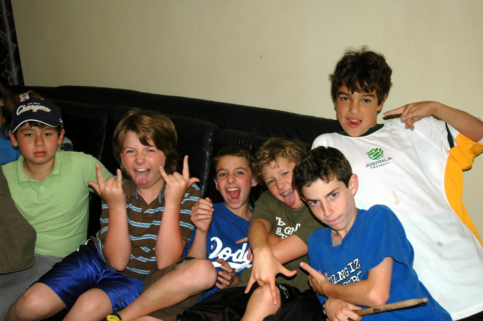 Westland crew, 5th grade