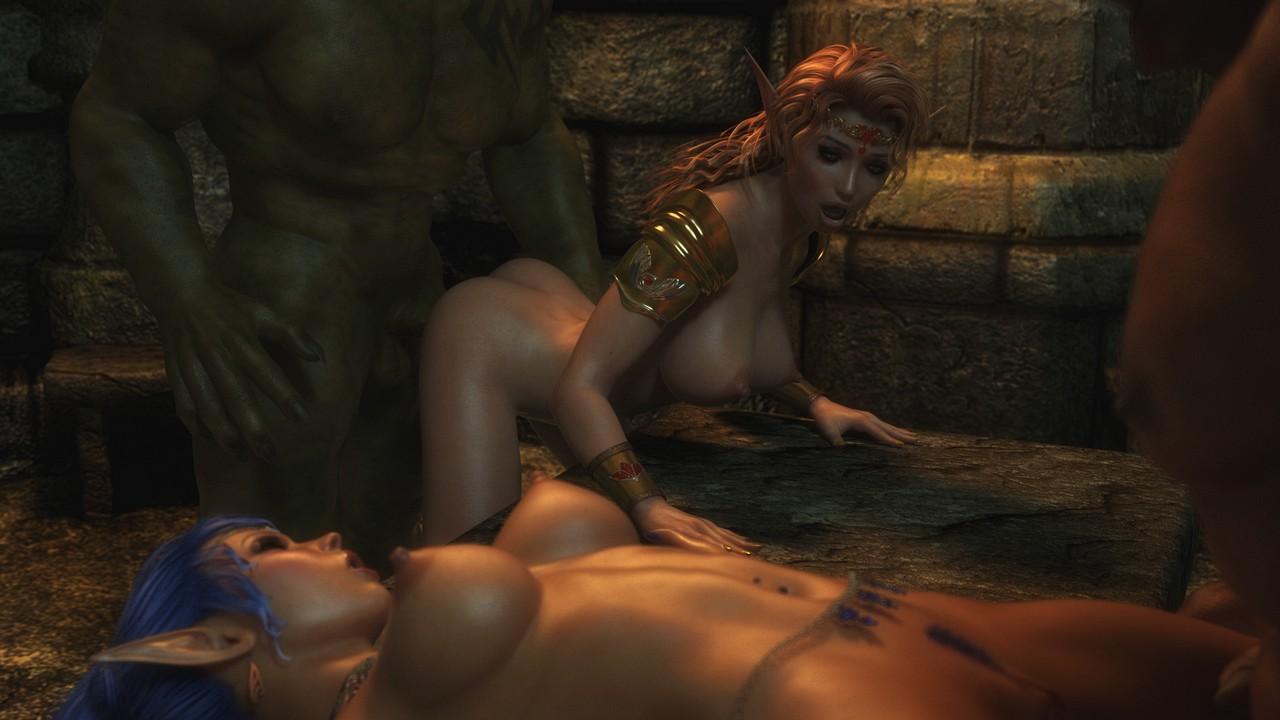 Medieval fantasy world elves hentai nackt movie