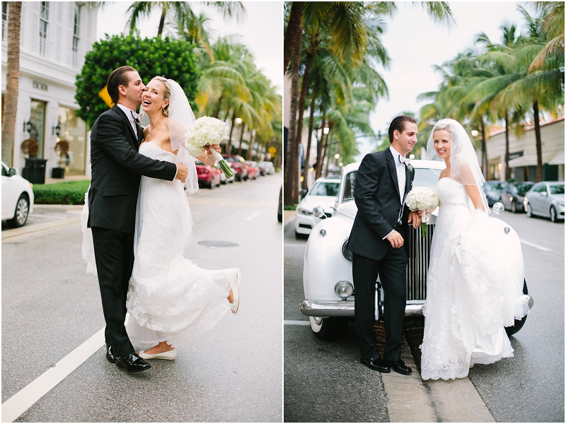 worth avenue palm beach wedding photography