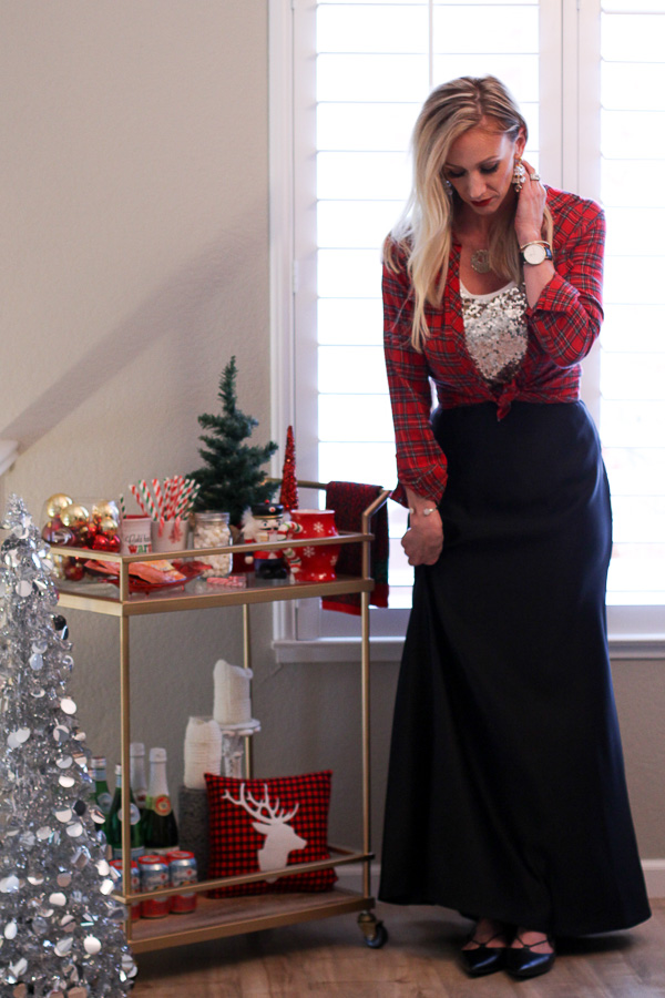 what to wear for a holiday home party