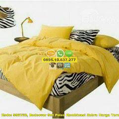 Harga Bedcover Set Polos Kombinasi Zebra Harga Termurah Jual