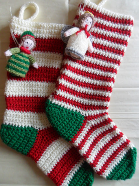 ... Crochet Christmas Stockings, Christmas Stockings and Stocking Pattern
