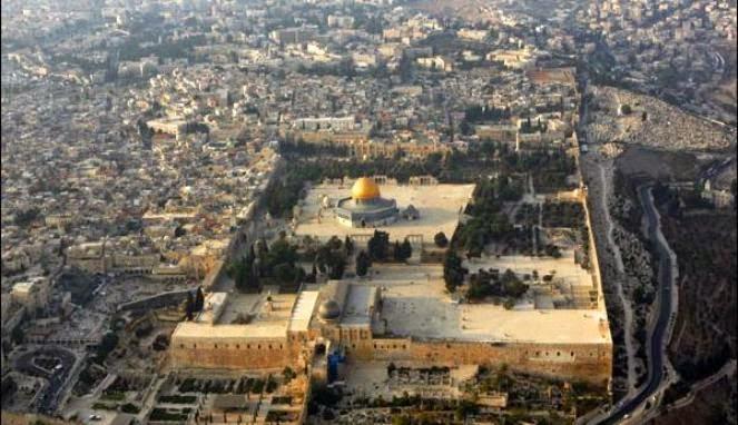 peta masjidil aqsha