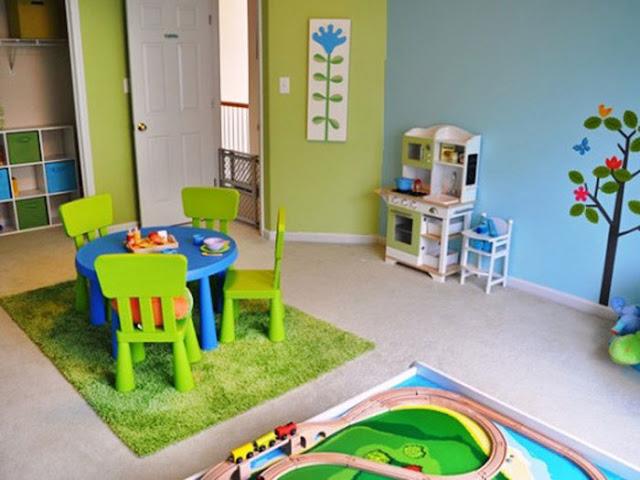 ترتيب غرفة العاب الاطفال