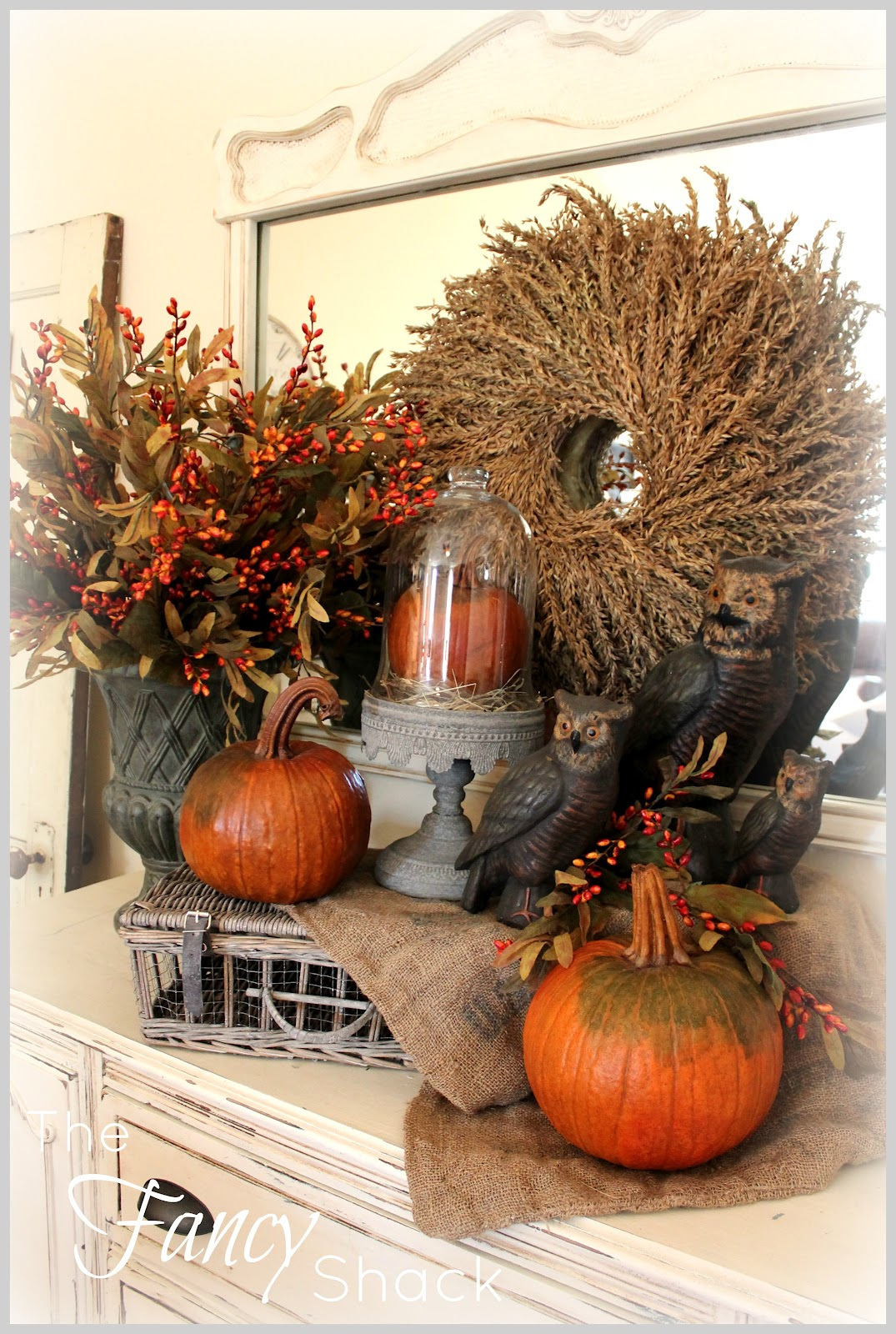 The Fancy Shack Fall Vignettes