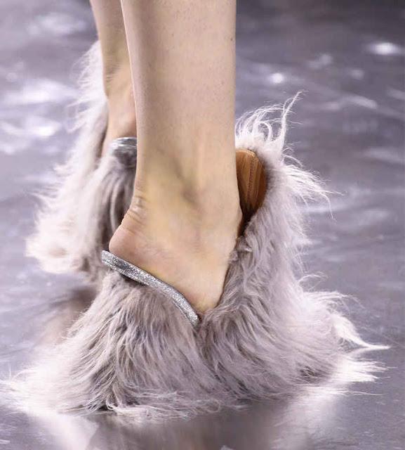 Maison Martin Margiela Furry Shoes