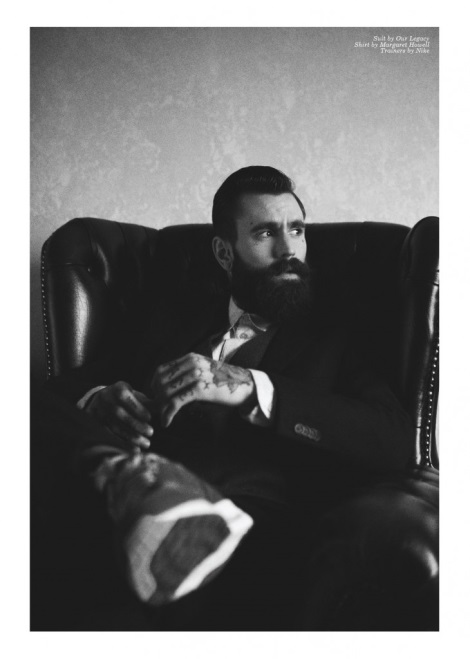 Ricki Hall by Rebecca Naen for Client Magazine
