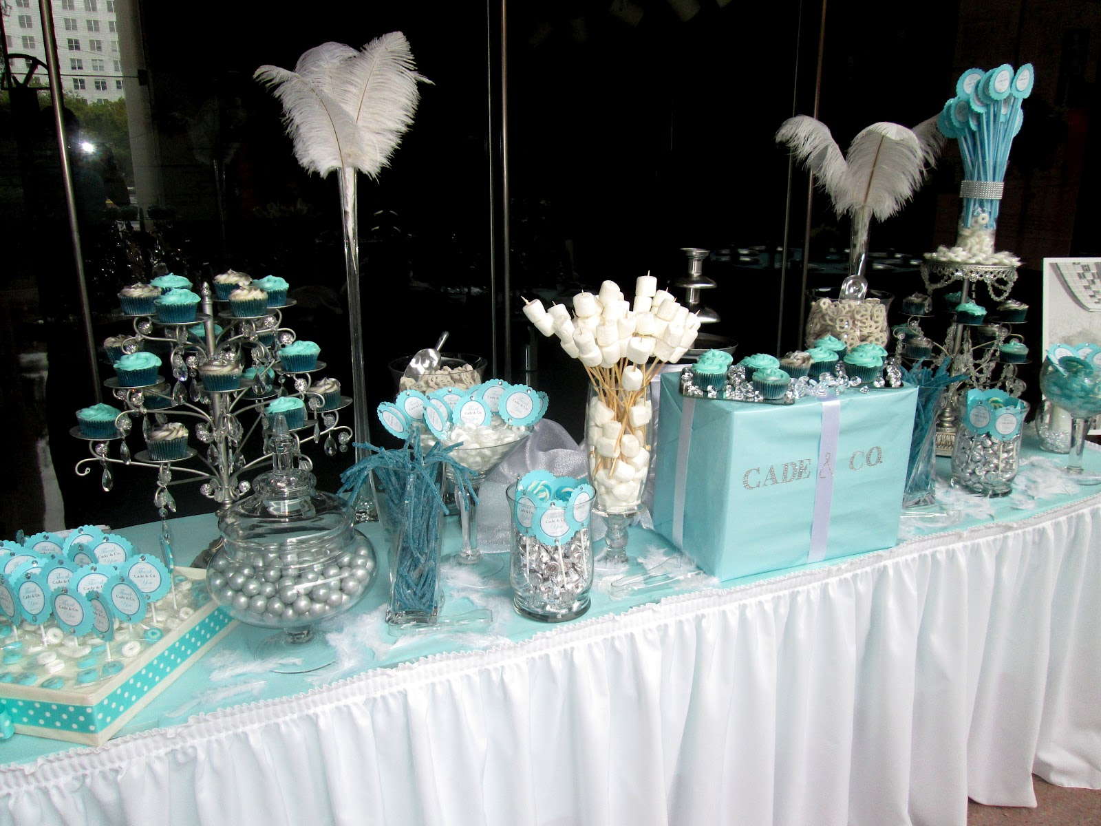 Real college student of atlanta tiffany co themed for Wedding party ideas