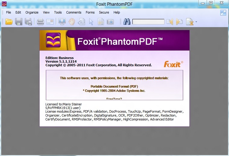 foxit phantompdf free download filehippo