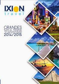 Catálogo Mayorista de viajes Ixion Travel 2015