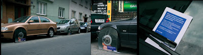 Allianz Paper Wheel-Clumps Car Insurance Advertising