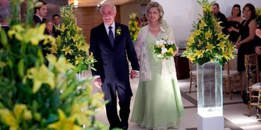 O que os convidados devem usar na cerimonia de bodas de ouro