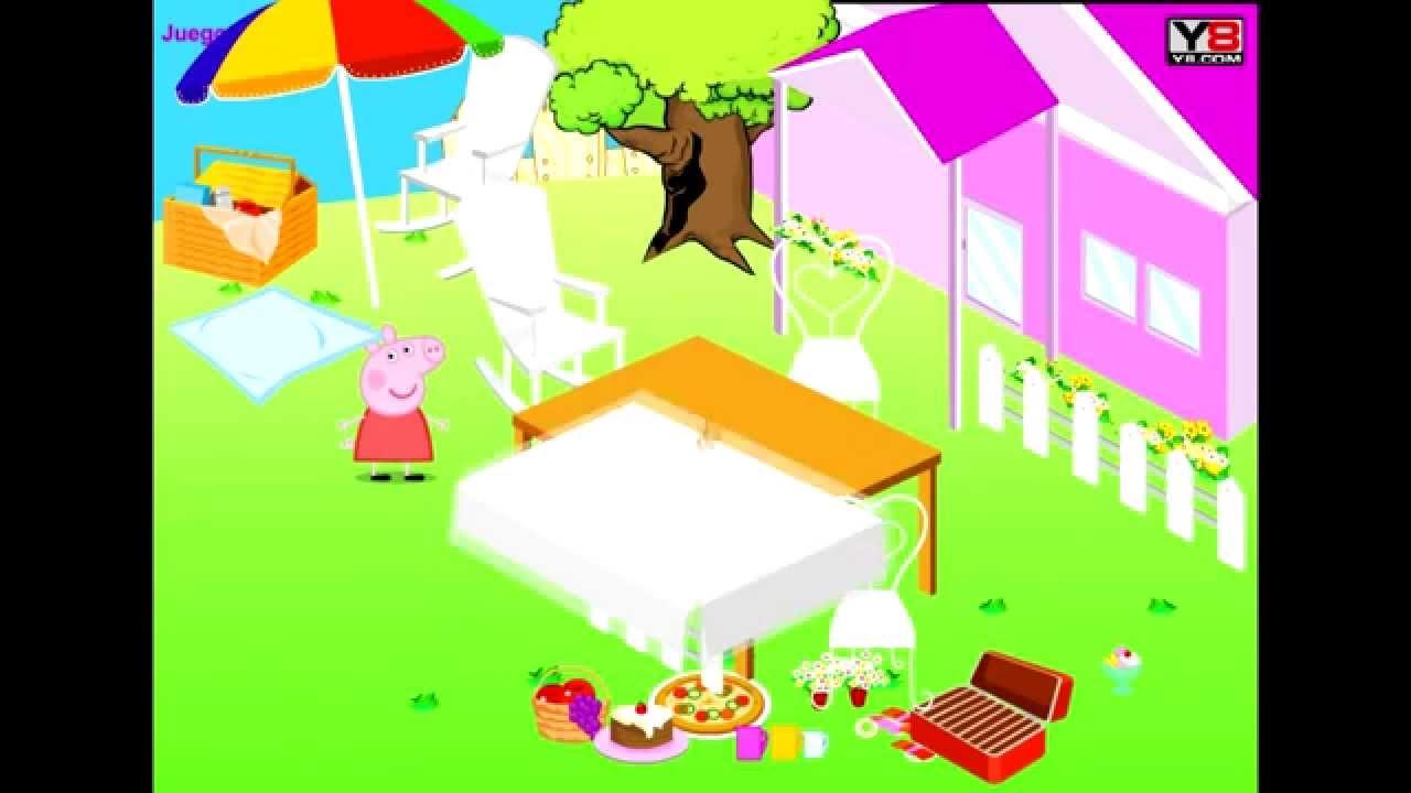 Juego online decora el jardin con peppa pig la tienda de for El jardin online