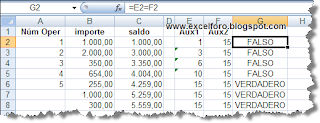 Formato condicional con fórmula en Excel 2007.