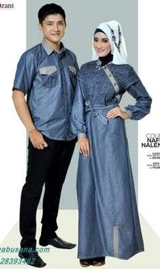 Model Baju Muslim Sarimbit Modern untuk Hari Raya