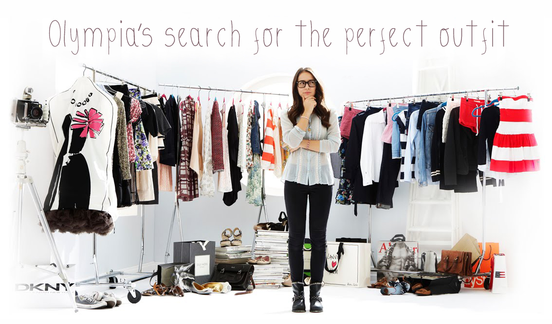 Olympia's search for the perfect outfit