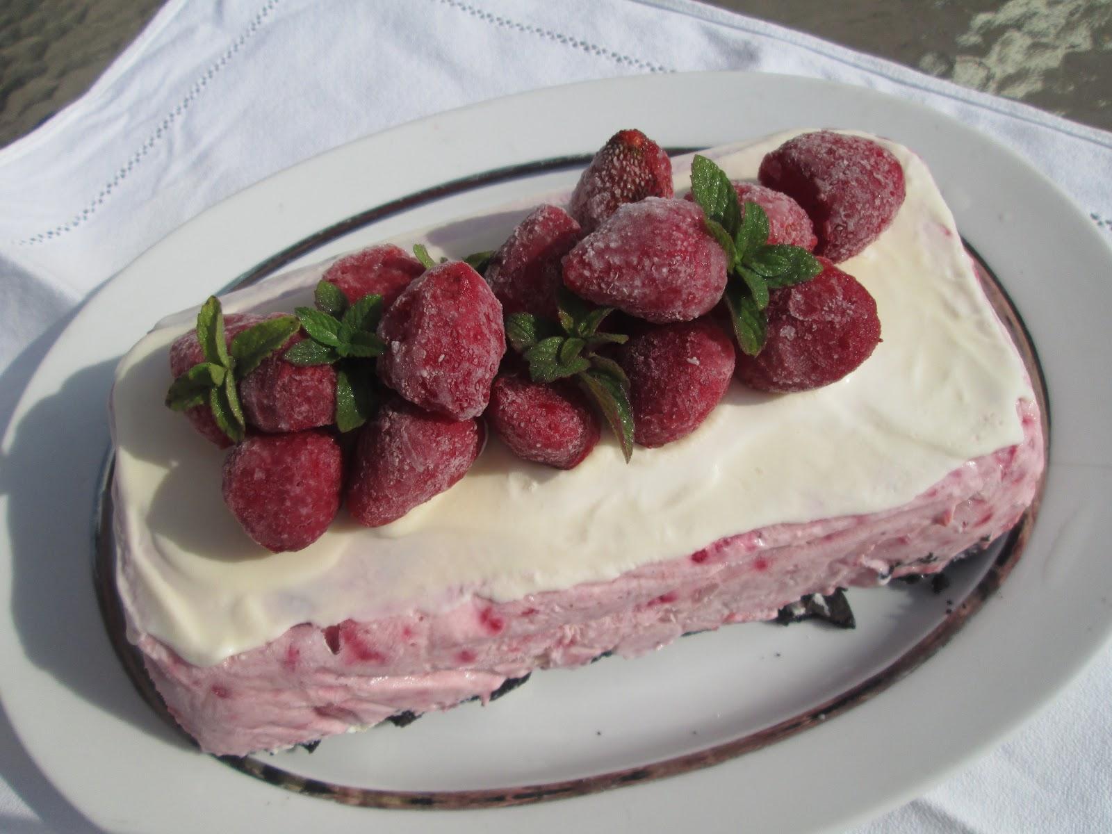 Canela kitchen (gloria): Better than strawberries Ice cream