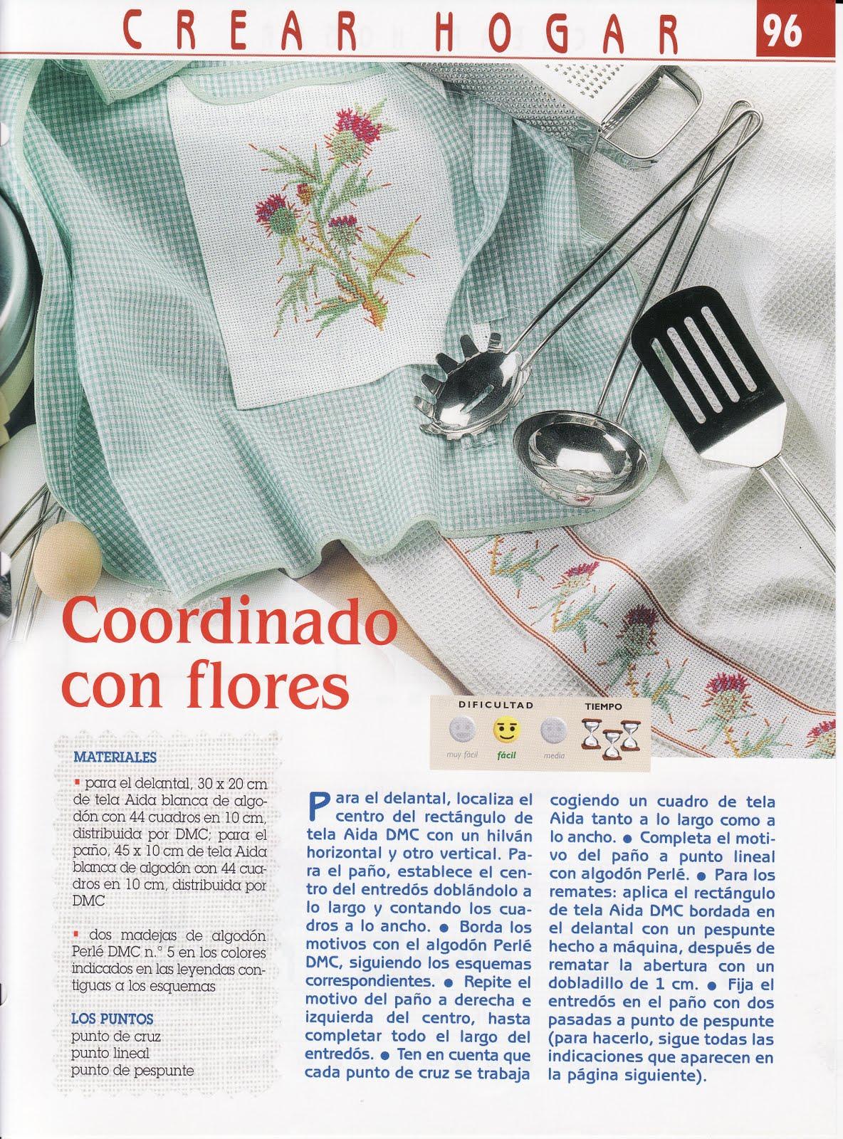 PATRONES PUNTO DE CRUZ GRATIS: Gráfico de flores con puntilla de ...