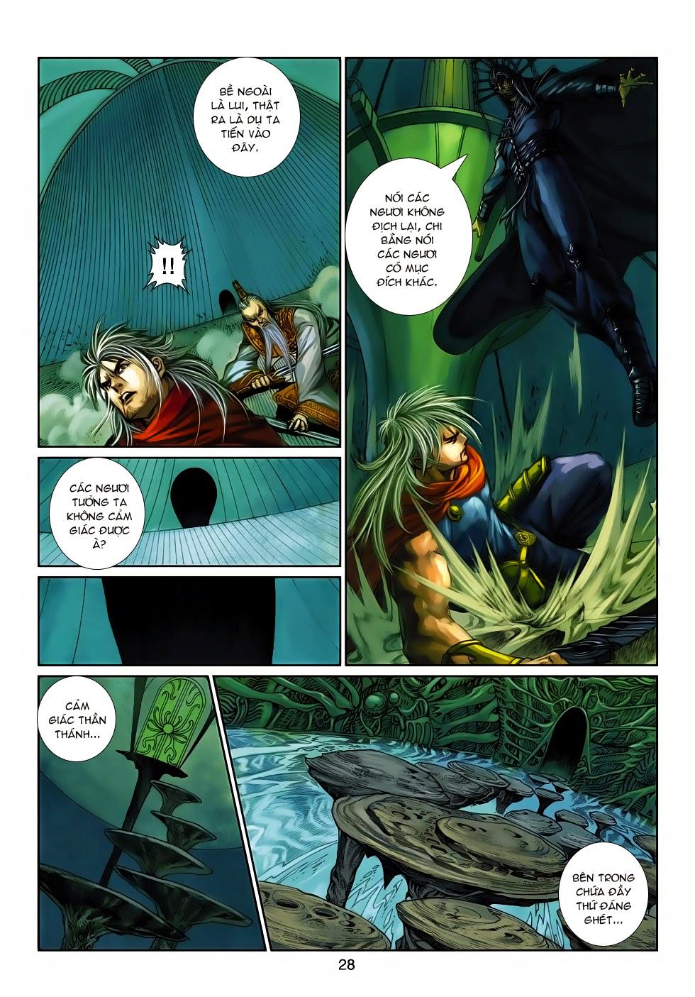 Thần Binh Tiền Truyện 4 - Huyền Thiên Tà Đế chap 14 - Trang 28