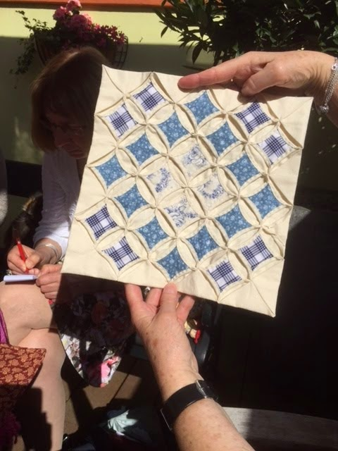 Ook bij Bossche Quilts & Meer gaan we een workshop