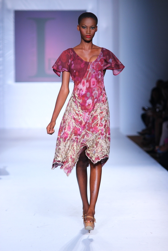 Mtn Lagos Fashion and Design Week 2012: Lanre Dasilva Ajayi  Nigerian fashion