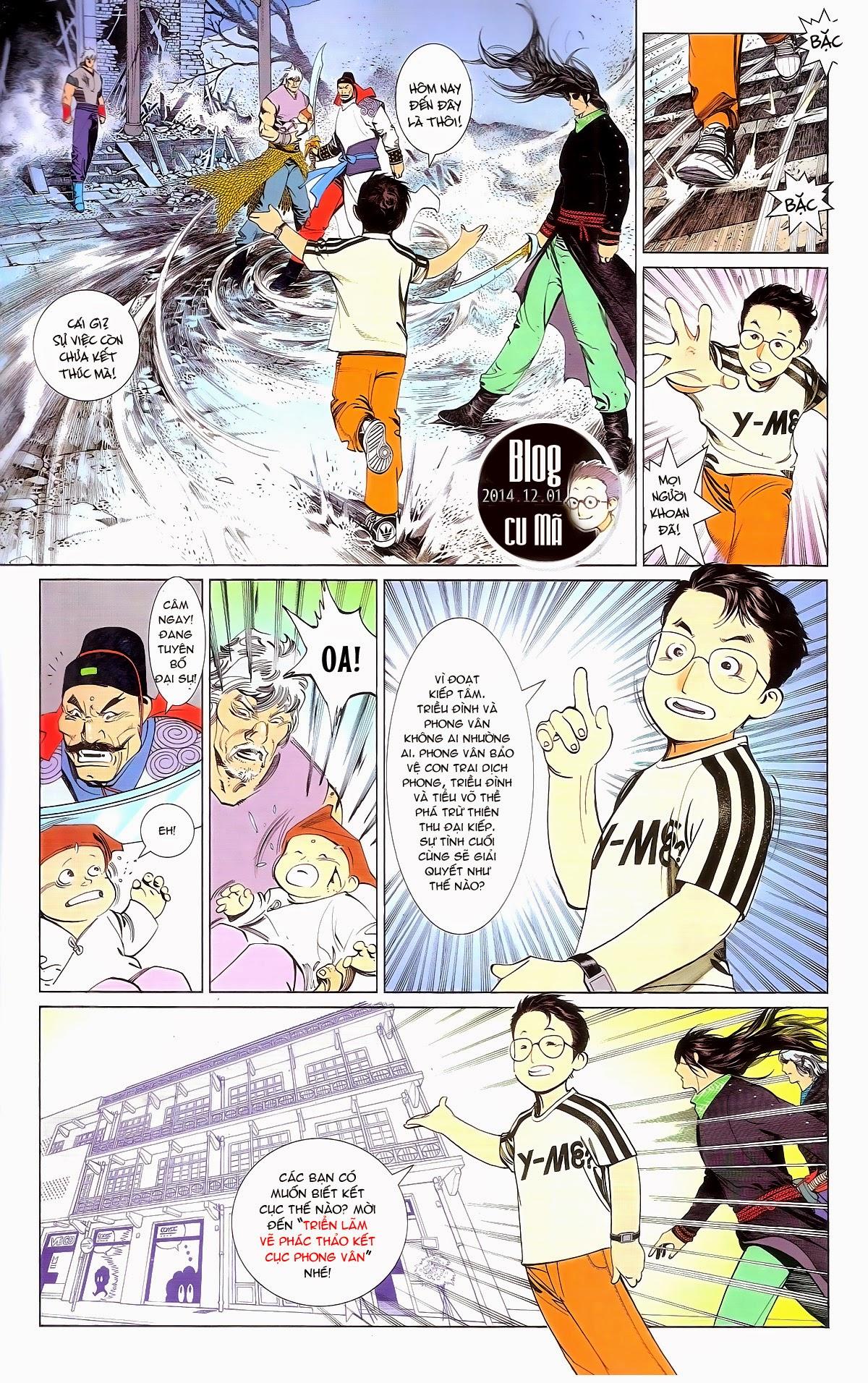 Phong Vân chap 674 – End Trang 79 - Mangak.info