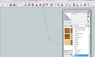 Google sketchup as a design tool