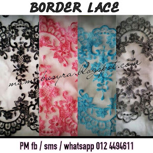 Border Lace Available For SALE!!