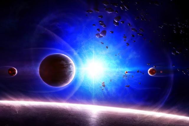 Cinturão de fotons, Alcyone, Capela, luz azul no universo, Alcione