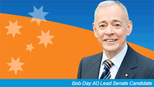 Bob Day, Senate, Family First, South Australia, election, election 2013
