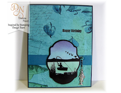 Inspired by Stamping, Crafty Colonel, Masculine Tags II, Masculine Birthday Card