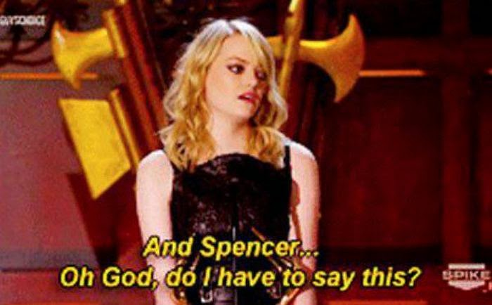 Emma Stone Let Her Brother Write Her Acceptance Speech (12 pics ...