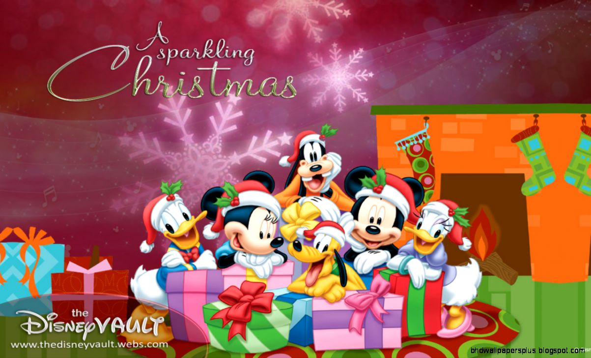 Disney christmas wallpaper hd