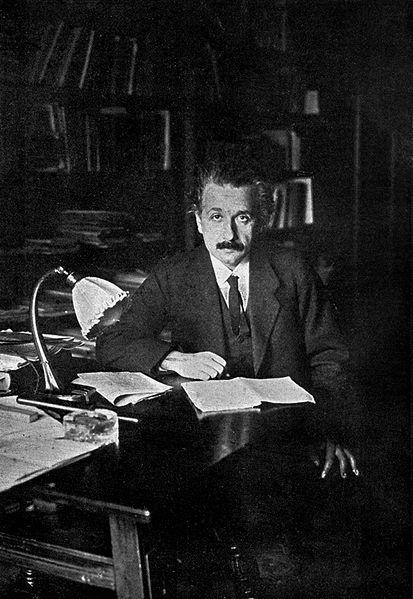 Albert Einstein en 1920