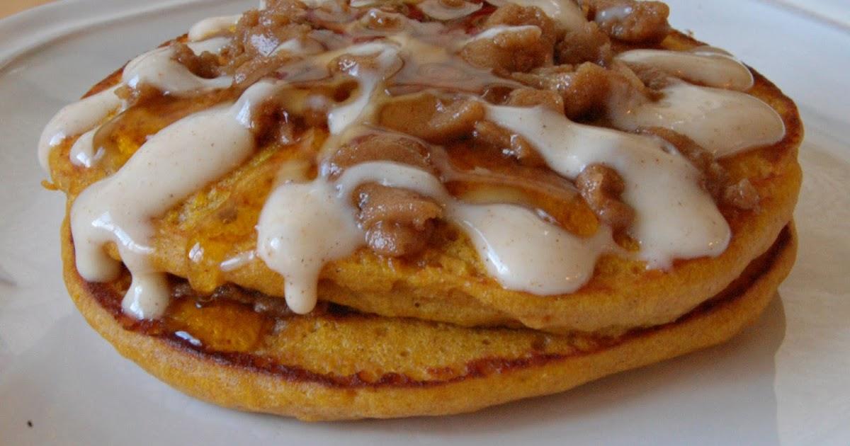 Serenity Cove: Pumpkin Streusel Pancakes