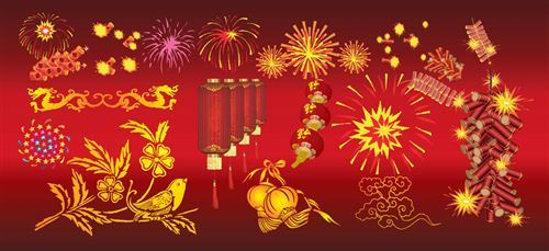 Beautiful Free Chinese New Year Vector Images